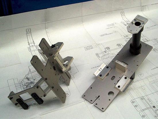 výroba dílů a montáž
